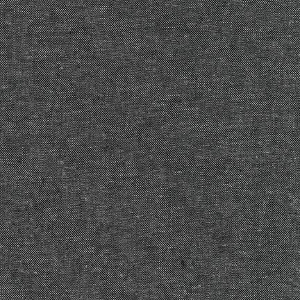 Robert Kaufman Essex Yarn Dyed Charcoal