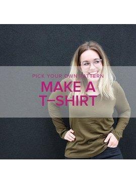 Erica Horton Pick Your Pattern: T-Shirts, Alberta St Store, Thursdays, April 16 & 23, 6-9pm