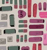 Windham Fabrics Pencil Club by Heather Givans Erasers Buff