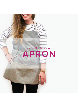 Karin Dejan Learn to Sew: Apron, Lake Oswego Store, May 19, 6-9 pm