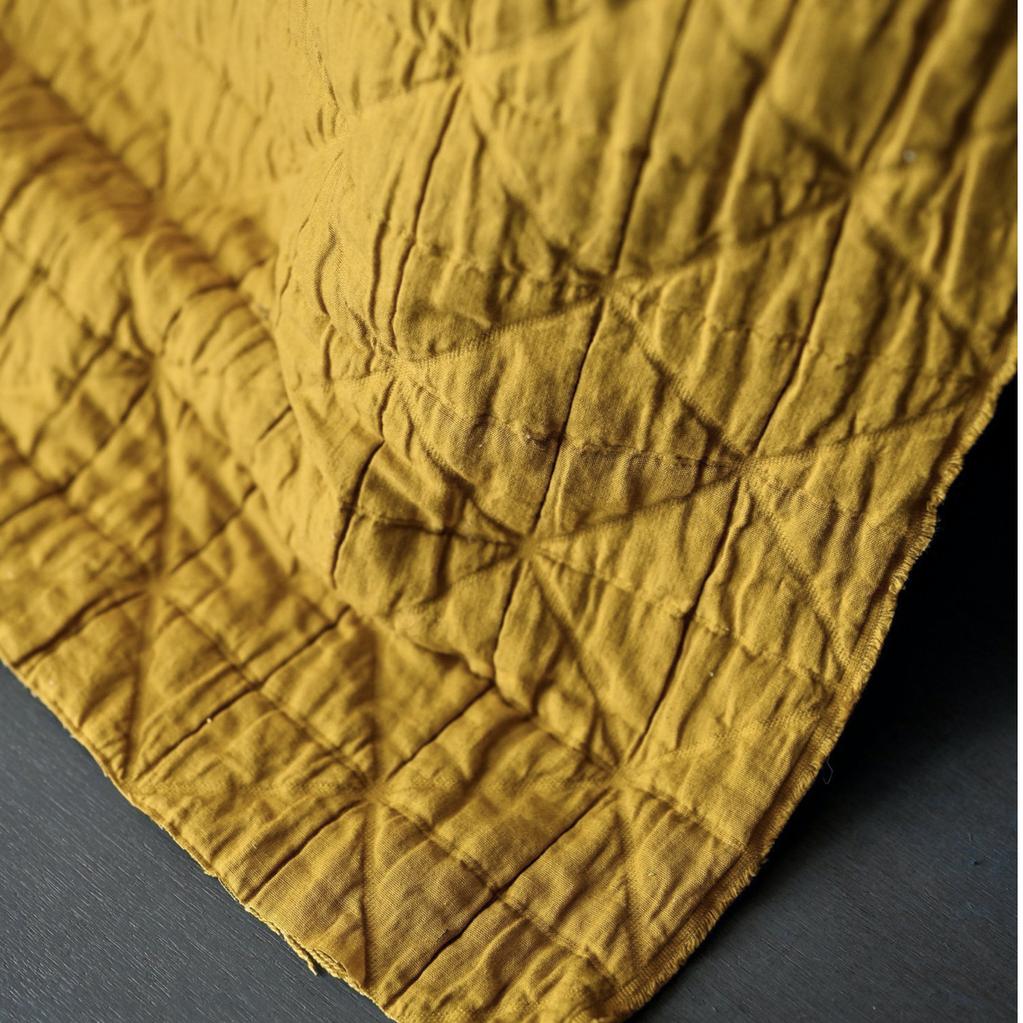 Merchant & Mills Merchant & Mills Jacquard Cotton Laine Mustard