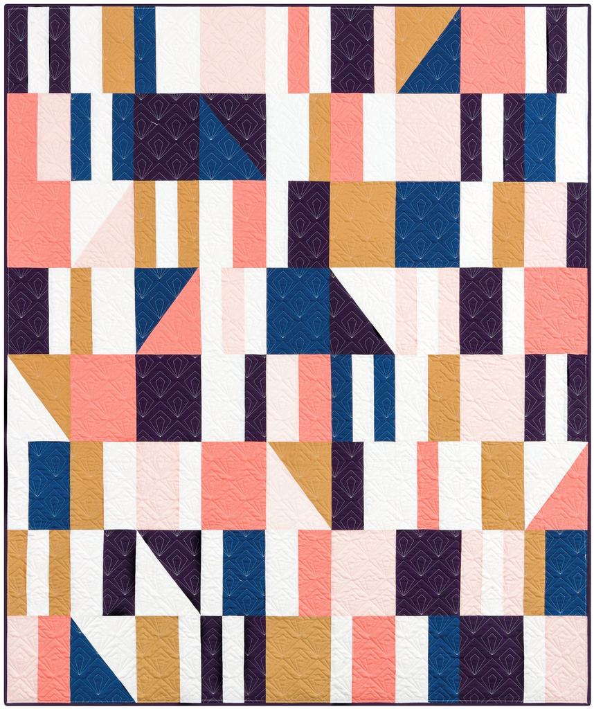 Then Came June Then Came June: Sidewalk Chalk Quilt Pattern