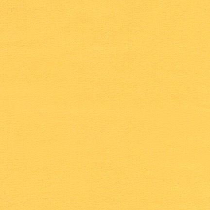 Robert Kaufman Flannel Solid Citrus