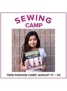 Jill Farrell Teen Fashion Camp, Lake Oswego Store, Monday - Thursday, August 17-20, 1-4pm