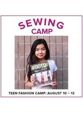 Jill Farrell Teen Fashion Camp, Alberta St Store, Monday - Thursday, August 10-13, 1-4pm