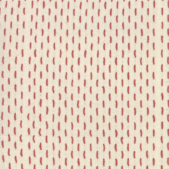 French Sashiko Pearl Red