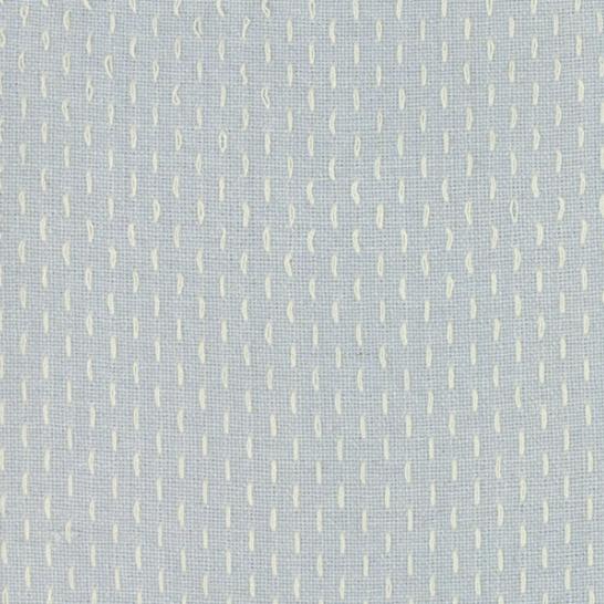 French Sashiko Dusty Blue