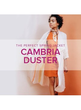 Karin Dejan Cambria Duster, Alberta St Store, Mondays, May 4, 11, 18, & June 1 (no class on Memorial Day), 6-9pm