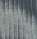 "Moda Boro Foundations charcoal and grey stripe 100% Cotton 44"" wide"