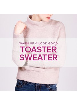 Erica Horton Toaster Sweater, Lake Oswego Store, Wednesdays, May 13 & 20, 6-9pm