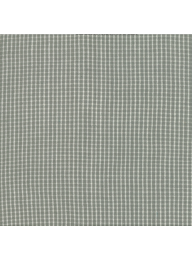 "Moda Boro Foundations Dovetail check  100% Cotton 44"" wide"