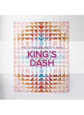 Wendy Tharp King's Dash Quilt, Lake Oswego Store, Tuesdays, May 26, June 2 & 9, 6-9pm