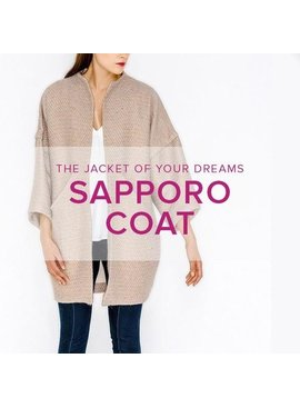 Erica Horton CLASS FULL Sapporo Coat, Alberta St. Store, Thursdays, April 30, May 7 & May 14, 6-9 pm