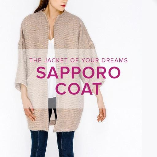 Erica Horton CLASS FULL Sapporo Coat, Alberta St. Store, Thursdays, April 30, May 7 & May 14, 6-9 pm