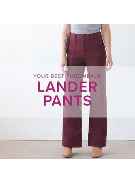Erica Horton Lander Pants, Alberta St Store, Thursdays, May 21, 28, June 4 & 18 (no class June 11), 6-9 pm