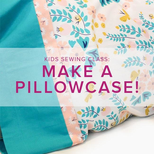 Cath Hall Kids Sewing Class: Make a Pillowcase, Alberta St. Store, Saturday, May 23, 2-5pm