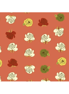 Windham Fabrics Far Far Away 2 by Heather Ross Roses Red