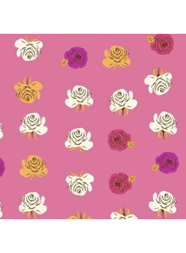 Windham Fabrics Far Far Away 2 by Heather Ross Roses Pink