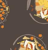 Windham Fabrics Far Far Away 2 by Heather Ross Sleeping Beauty Grey/Brown