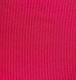 Red Stripe Textured Knit