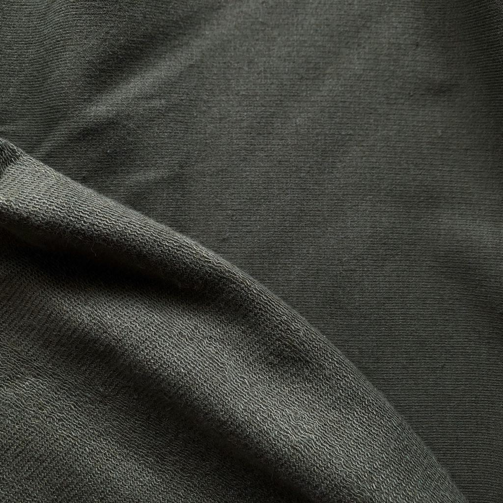 Pickering International Soy / Organic Cotton Dark Olive French Terry