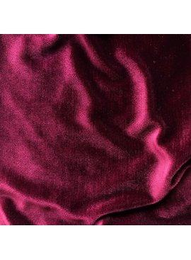 S. Rimmon & Co. Wine Red Stretch Velvet Velour