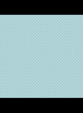 Riley Blake Flannel Swiss Dot Aqua