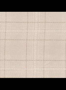 Dear Stella Winter Cabin Flannel: Dash Plaid Gardenia
