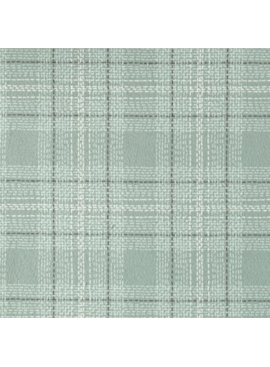 Dear Stella Winter Cabin Flannel: Dash Plaid Spruce