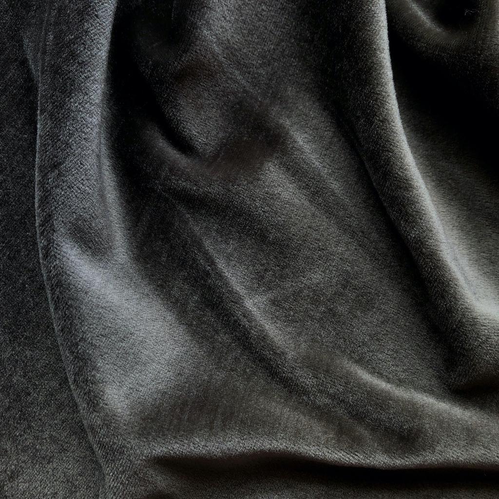 S. Rimmon & Co. Greige Stretch Velvet Velour