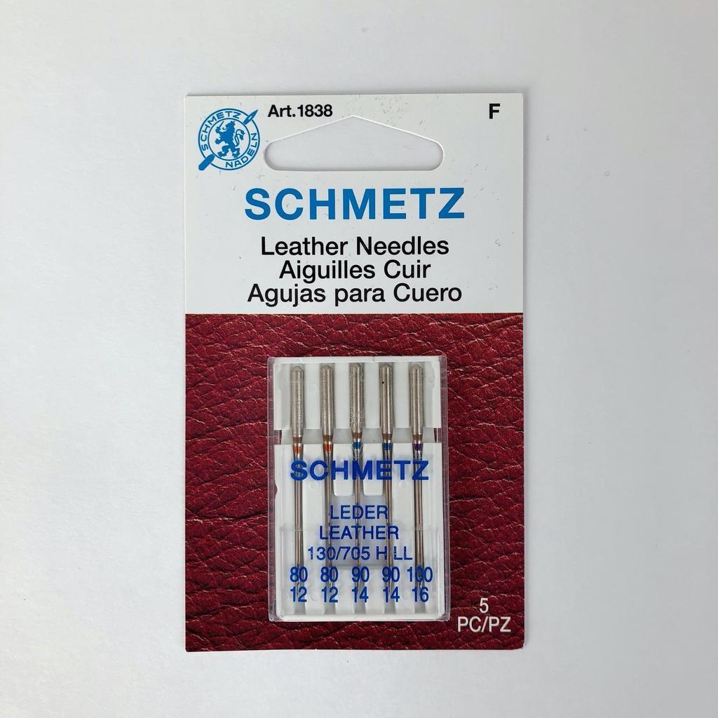 Schmetz Schmetz Leather 5-pk Asst