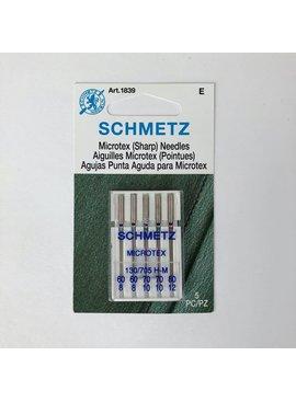 Schmetz Schmetz Microtex 5 pk Asst
