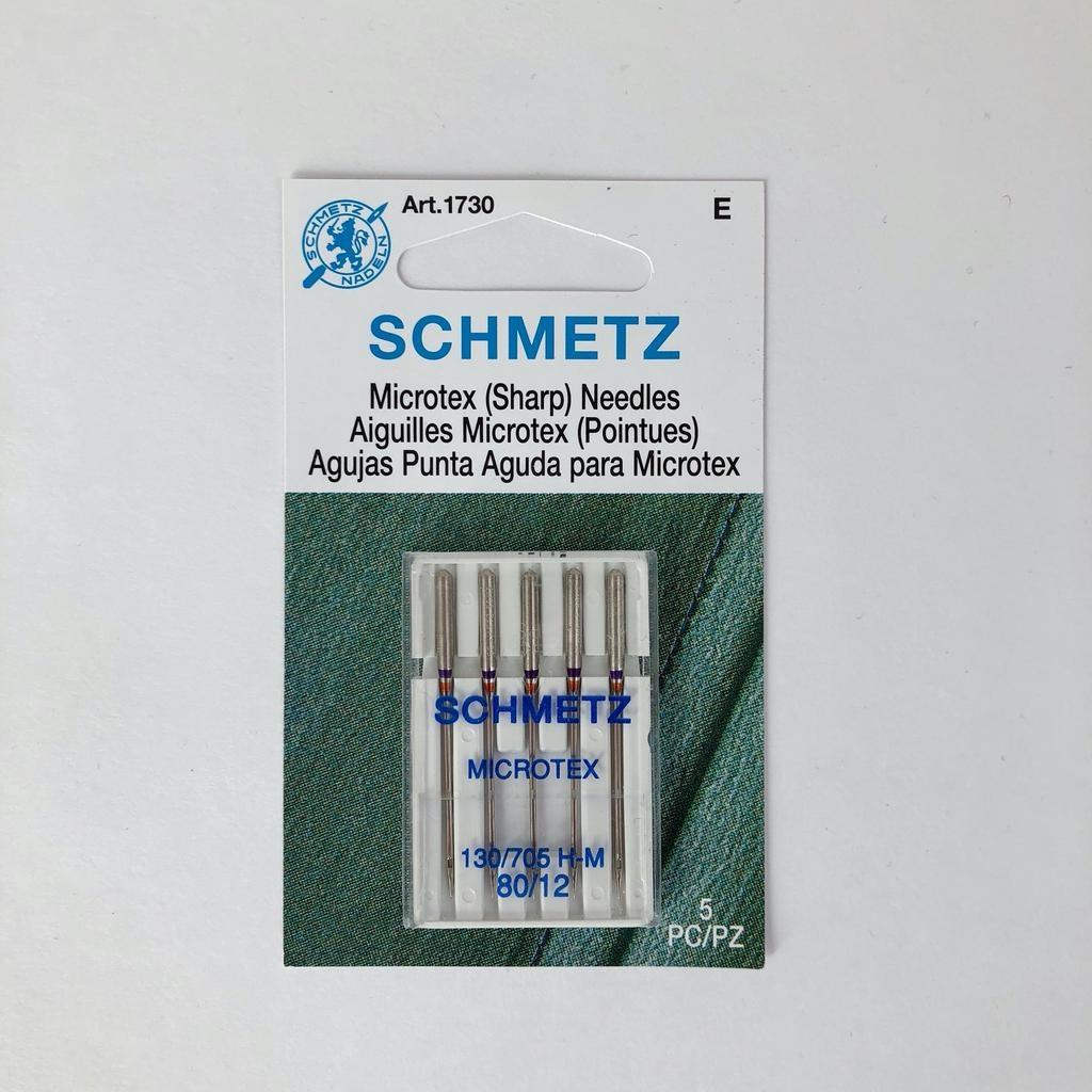 Schmetz Schmetz Microtex 5pk sz12/80