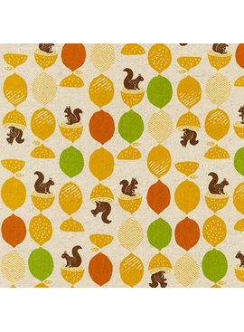 Robert Kaufman Sevenberry Cotton Flax Prints Citrus