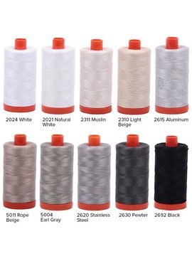 Aurifil Aurifil Cotton Mako 50wt 1300m ORANGE SPOOL