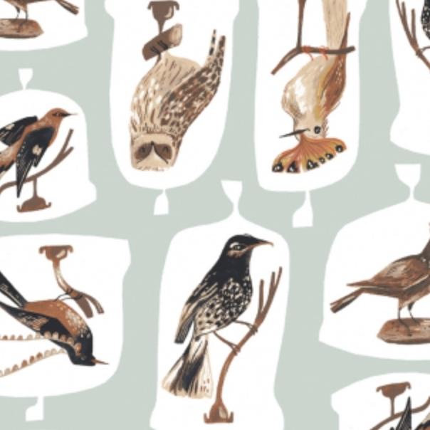 Dear Stella Bird Cloches Misty by Dear Stella