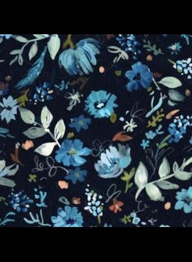 Dear Stella Blue Crush by August Wren for Dear Stella Windblown Multi