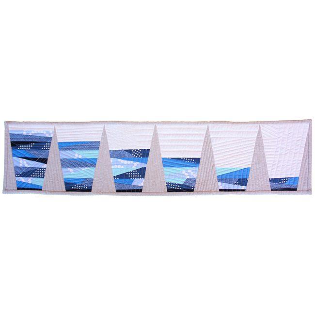 "Modern Domestic ""Glass Half Full"" 2015 Row By Row Pattern"