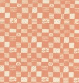 Cotton + Steel Print Shop by Alexia Abegg: Grid - Peach