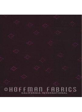 Hoffman Fabrics Me + You Hand Dyed Batiks Eggplant
