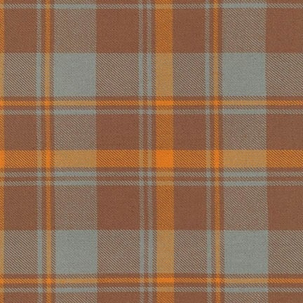 Robert Kaufman Grizzly Plaid Butterscotch