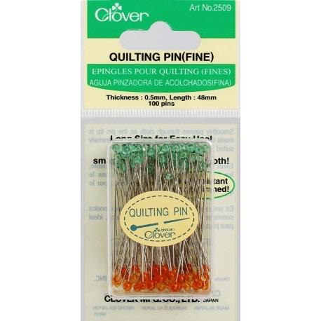 Clover Clover Quilting Pins (Fine)