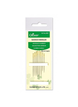Clover Clover Gold Eye Sashico Needles