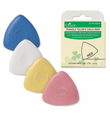 Clover Triangle Chalk Red