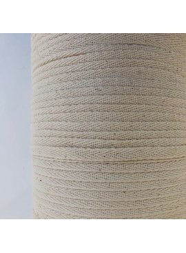 "Cheep Trims Natural Cotton Twill Tape 1/4"" (10 Yards)"