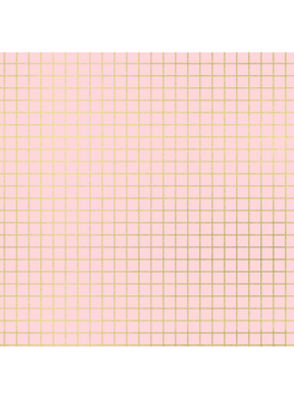 Ruby Star Society Grid Metallic by Kimberly Kight for Ruby Star Society Pink Gold