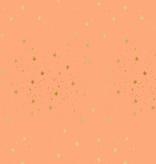 Cotton + Steel Primavera by Rifle Paper Co. Stars Peach Metallic