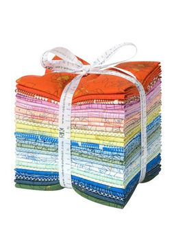 Robert Kaufman Collection CF by Carolyn Friedlander: Colorful Colorstory Fat Quarter Bundle 27pc