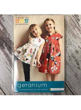 Made By Rae Geranium Dress sz 0-5T