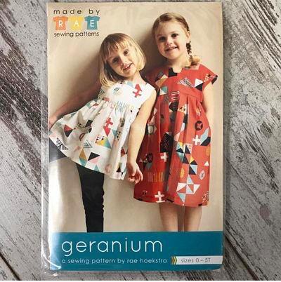 Made By Rae Geranium Dress sz 0-5T